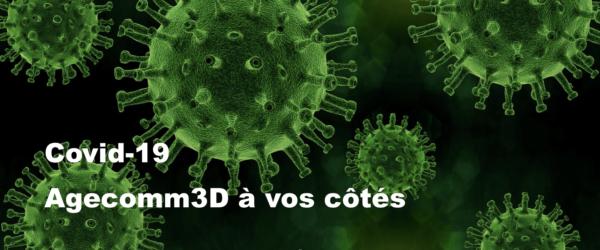 covid 19 coronavirus pandémie agecomm3D